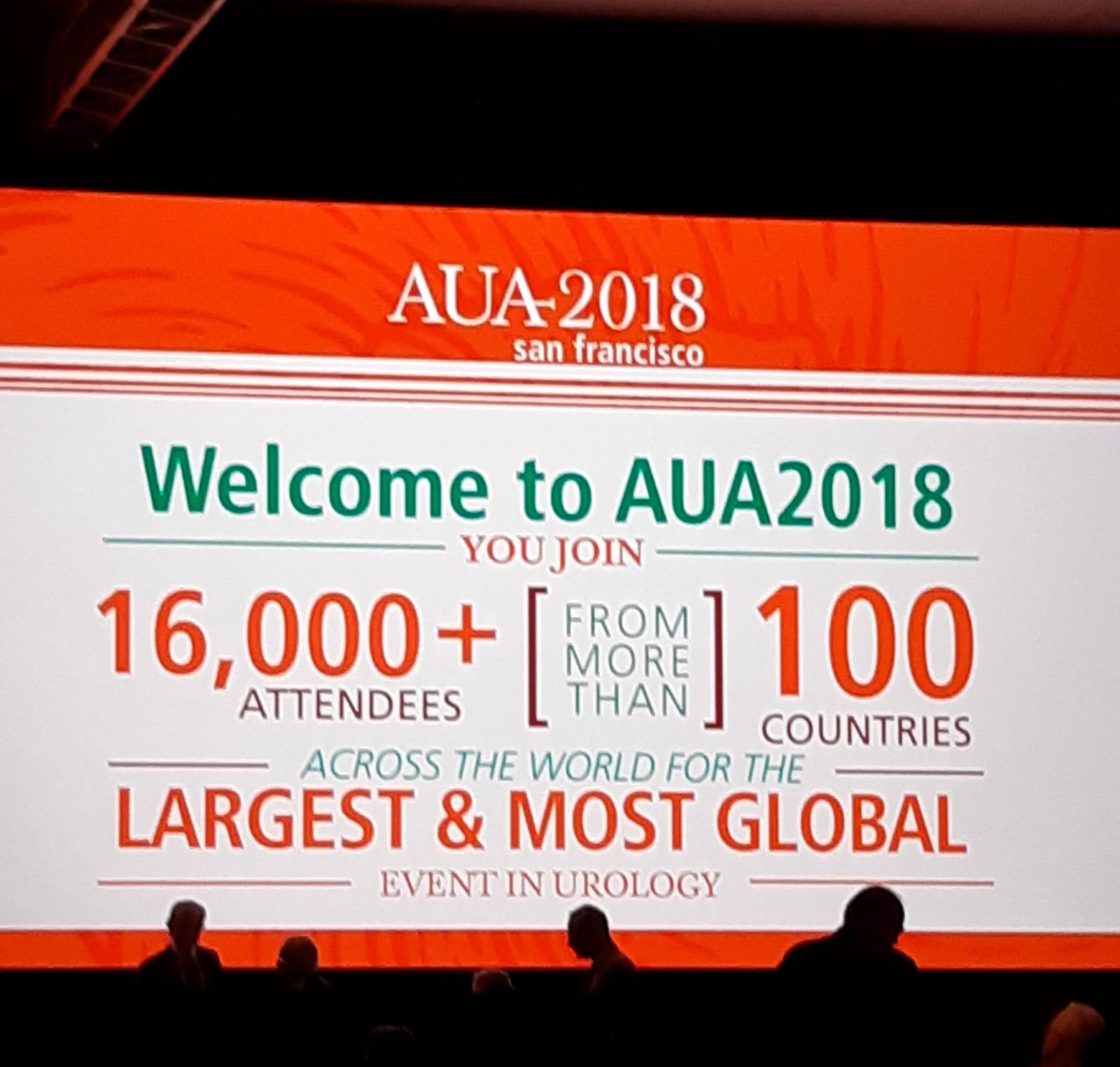 Participación en el Congreso de la American Urological Association (AUA)
